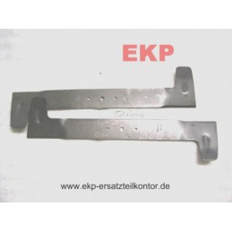 Messer rechts / links für Rasentraktor DINO 102 cm Mähwerk Nr. DO226 und DO225