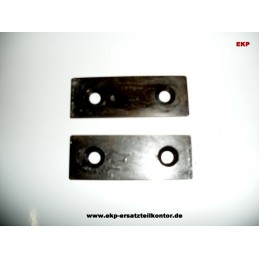 Häckslermesser 53350 für Lescha ZAK 1500 u. 2002 Geräte