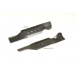 2 x Messer für Rasentraktor  MTD Mähwerk 97 cm Rasentraktormesser hochgekröpft
