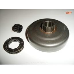 Ringkettenrad inkl. Kupplungstrommel u. Nadellager  Nr. 5014573-01