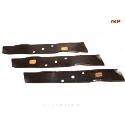 3 x Mulchmesser für Stiga Park 12 mit Mulchmähwerk                                Herst-Nr.1134-9002-01