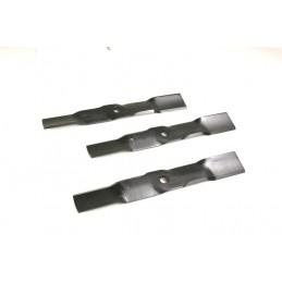 """3 x Mulchmesser für Rasentraktor John Deere 48"""" Zoll  Hersteller Nr. M115495"""