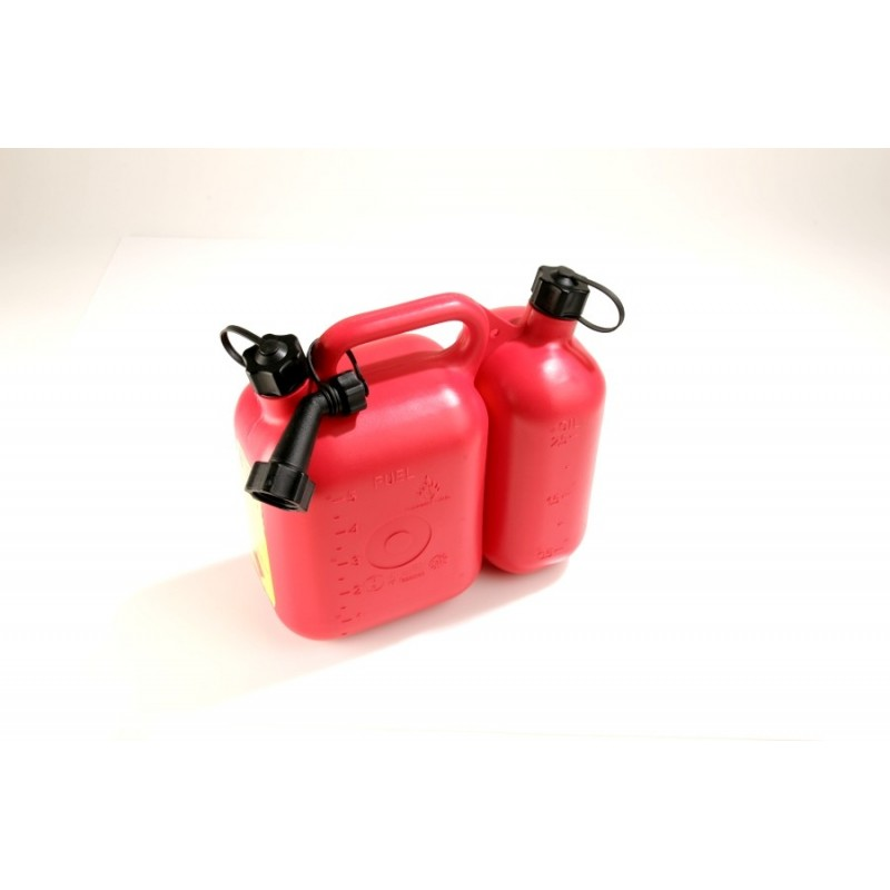 Kombi Kanister für Oel und Benzin Forstartikel