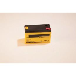 Batterie 12 Volt / 7,0 Ah wartungsfrei für Aufsitzmäher