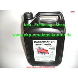 Motoroel SAE30 / 5 Liter für Rasenmäher u. Traktoren