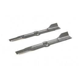 """Messer 1 paar für Rasentraktor 40"""" Zoll 102 cm Schnittbreite"""