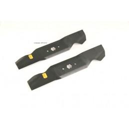 2 Messer für Rasentraktor MTD / 6 Stern Messeraufnahme