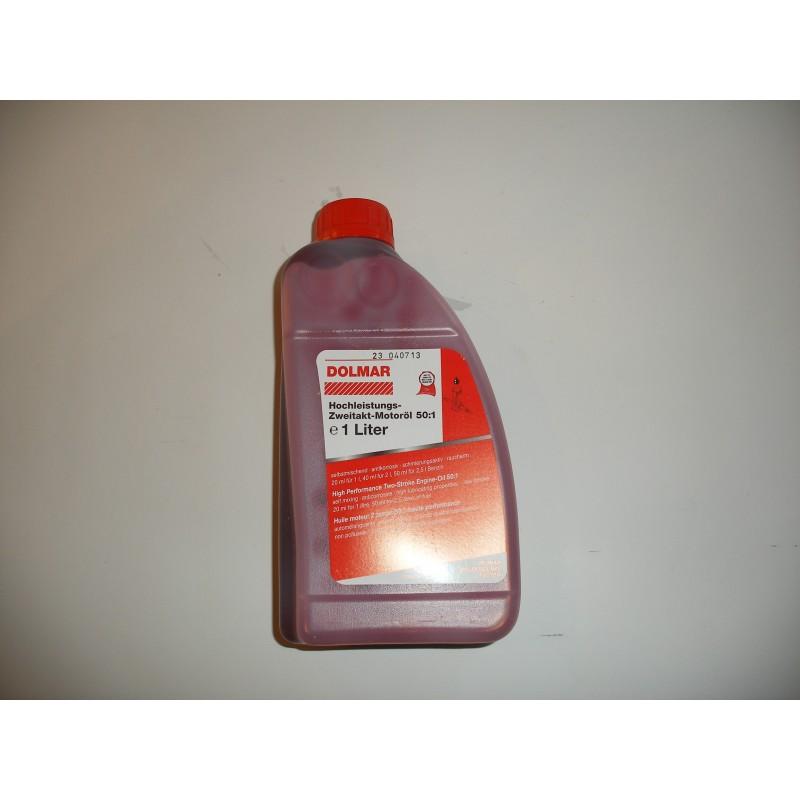 Zweitakt Mischoel 1 Liter Flasche für Motorsägen & Motorsensen