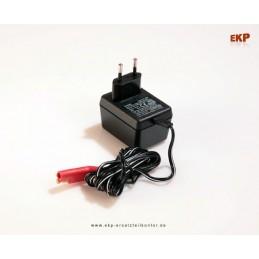 Ladegerät 12V - 2,5 Ah für Rasenmäher Batterie