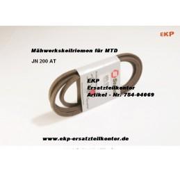 Keilriemen Mähwerk 754-04069 für MTD Traktor