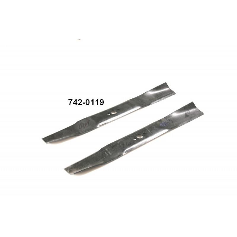 Messer für MTD Traktor ( 742-0119 )